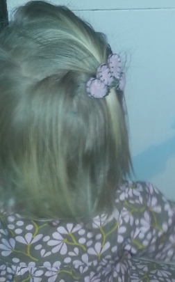 Hope's hair clip
